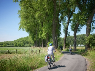 Riante Polder cycle route