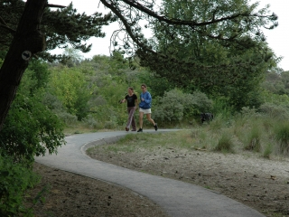 Walking in De Haan and Wenduine along the Kustwandelroute (Coastal Hiking Trail)