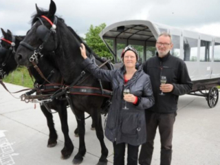 Tripel Zwart, horse and carriage